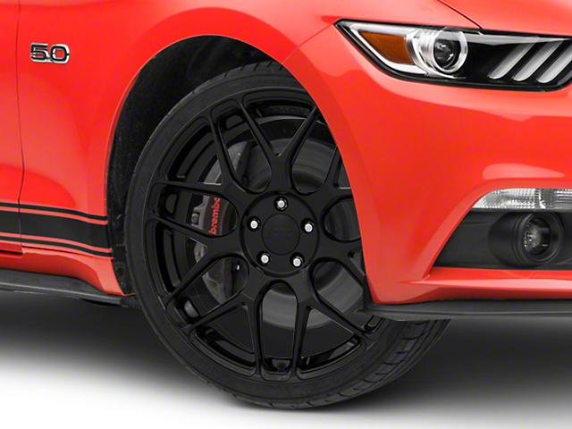 Rovos Pretoria Gloss Black Wheel; 20x8.5 (15-20 GT, EcoBoost, V6)