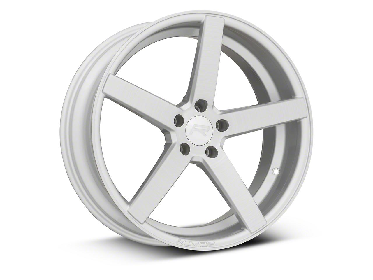 Rovos Durban Gloss Silver Wheel - 20x8.5 (15-17 GT, EcoBoost, V6)