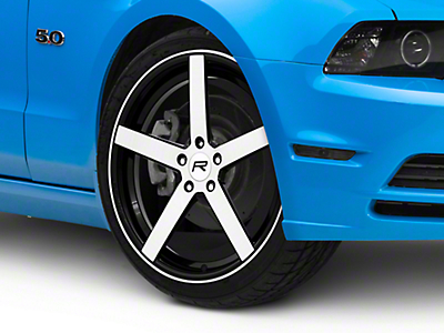 Rovos Durban Gloss Black Machined Wheel - 20x8.5 (05-14 All)