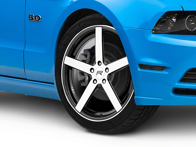 Rovos Durban Gloss Black Machined Wheel; 20x8.5 (10-14 All)