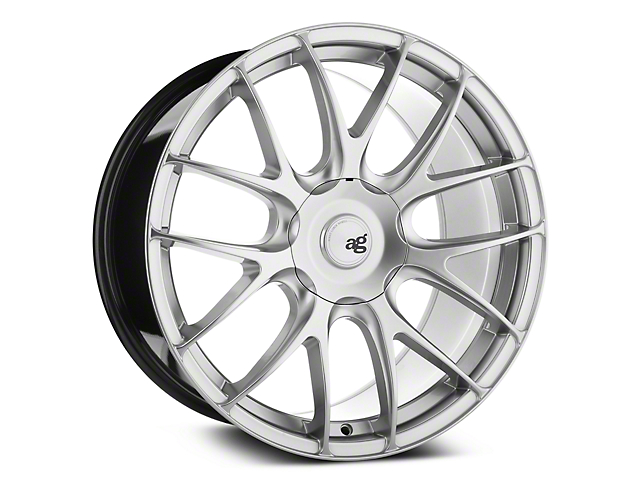 Avant Garde M410 Hyper Silver Wheel - 19x9.5 - Rear Only (05-14 All)