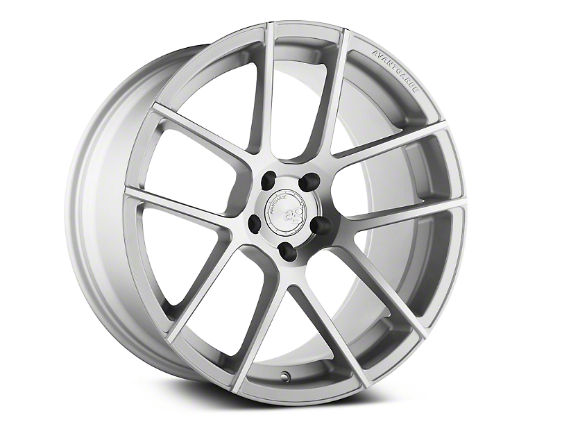 Avant Garde M510 Satin Silver Wheel - 19x9.5 (15-19 All)