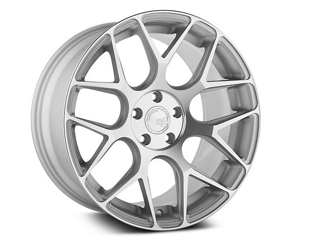 Avant Garde M590 Satin Silver Wheel; Rear Only; 20x10 (05-09 All)