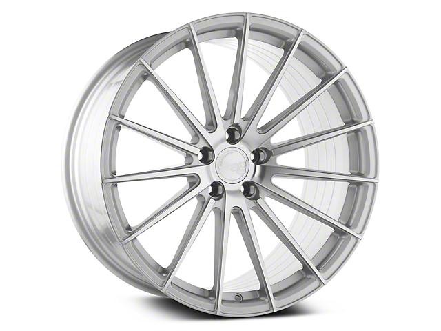Avant Garde M615 Silver Machined Wheel; 20x8.5 (15-20 GT, EcoBoost, V6)
