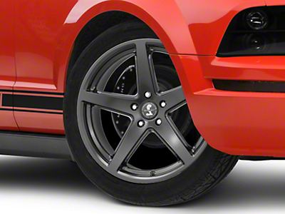 Shelby Style SB201 Satin Black Wheel - 19x9.5 (05-14 All)