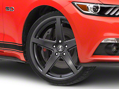 Shelby Style SB201 Satin Black Wheel - 19x9.5 (15-18 GT, EcoBoost, V6)