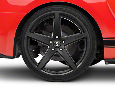 Shelby SB201 Satin Black Wheel - 20x10.5 (15-18 GT, EcoBoost, V6)