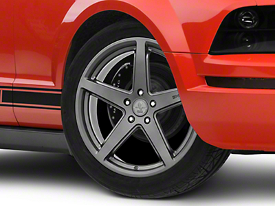 Shelby Style SB201 Charcoal Wheel - 19x9.5 (05-14 All)