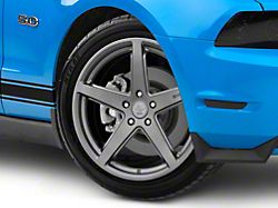 Shelby Style SB201 Charcoal Wheel; 19x9.5 (10-14 All)