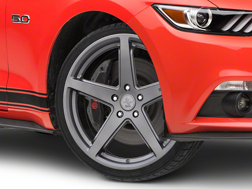 Shelby Style SB201 Charcoal Wheel - 19x9.5 (15-19 GT, EcoBoost, V6)