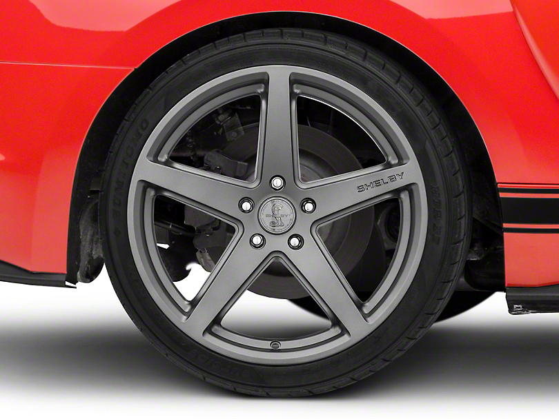 Shelby Style SB201 Charcoal Wheel - 19x10.5 - Rear Only (15-19 GT, EcoBoost, V6)