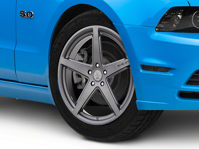 Shelby Style SB201 Charcoal Wheel; 20x9.5 (10-14 All)