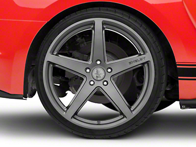 Shelby Style SB201 Charcoal Wheel - 20x10.5 (15-19 GT, EcoBoost, V6)
