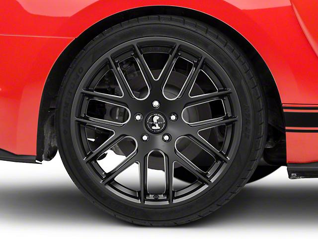 Shelby Style SB202 Satin Black Wheel - 19x10.5 (15-18 GT, EcoBoost, V6)