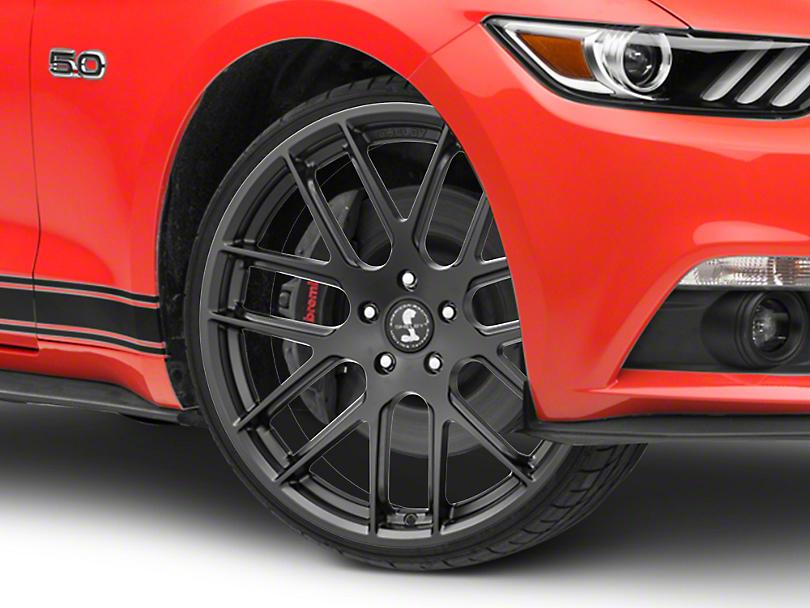Shelby Style SB202 Satin Black Wheel - 20x9.5 (15-19 GT, EcoBoost, V6)