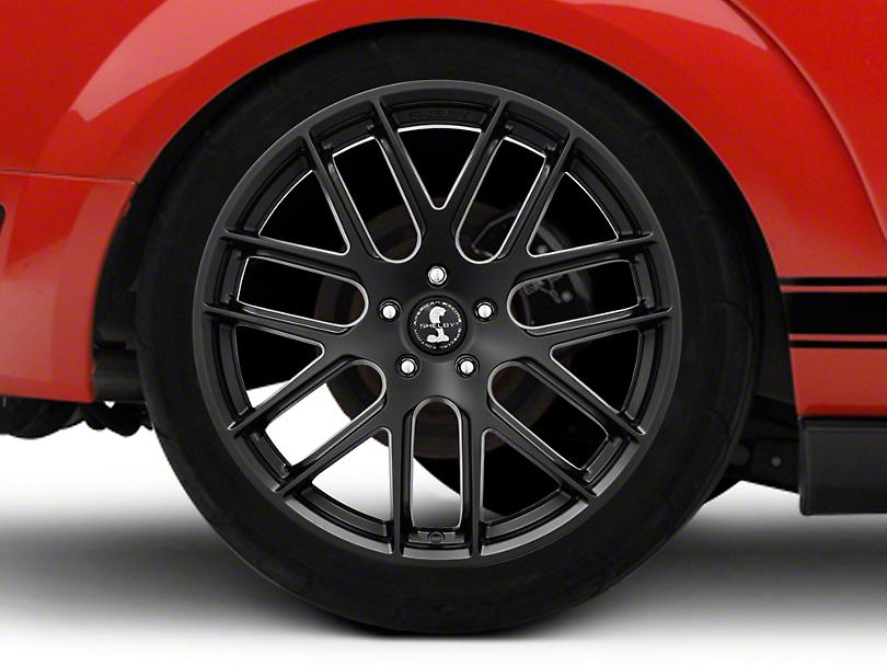 Shelby Style SB202 Satin Black Wheel - 20x10.5 (05-14 All)