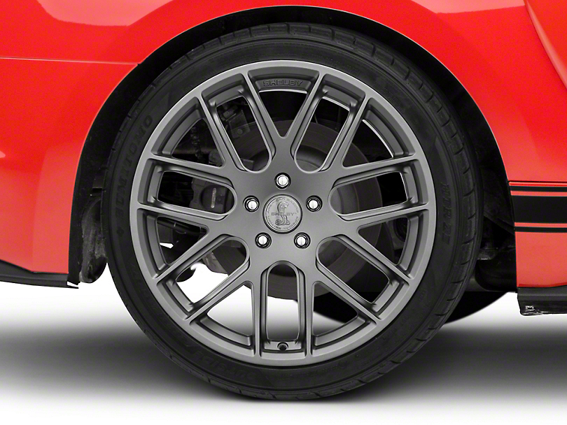 Shelby Style SB202 Charcoal Wheel - 19x10.5 - Rear Only (15-19 GT, EcoBoost, V6)