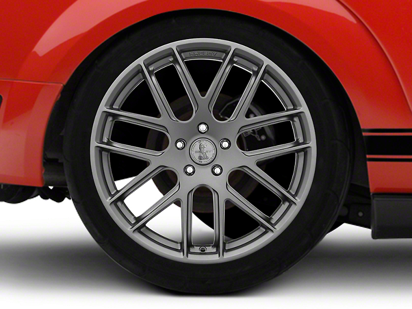 Shelby Style SB202 Charcoal Wheel - 20x9.5 (05-09 All)