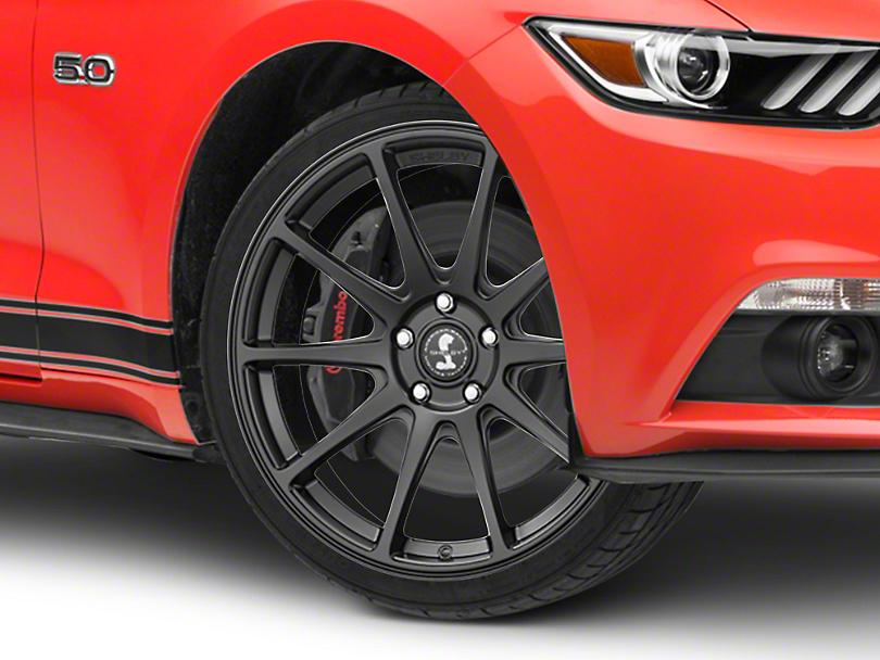Shelby Style SB203 Satin Black Wheel - 19x9.5 (15-19 GT, EcoBoost, V6)