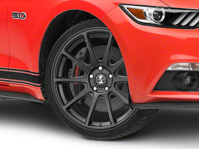 Shelby Style SB203 Satin Black Wheel - 19x9.5 (15-18 GT, EcoBoost, V6)