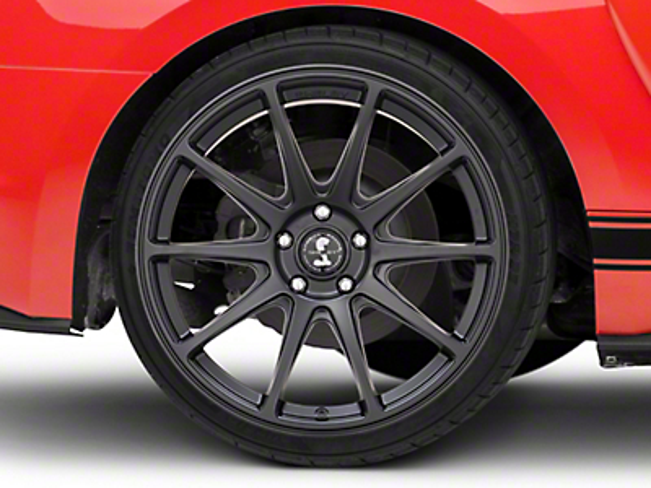 Shelby Style SB203 Satin Black Wheel - 19x10.5 (15-19 GT, EcoBoost, V6)