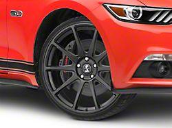 Shelby Style SB203 Satin Black Wheel; 20x9.5 (15-20 GT, EcoBoost, V6)
