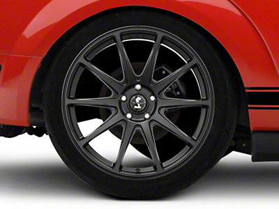 Shelby Style SB203 Satin Black Wheel - 20x10.5 (05-14 All)