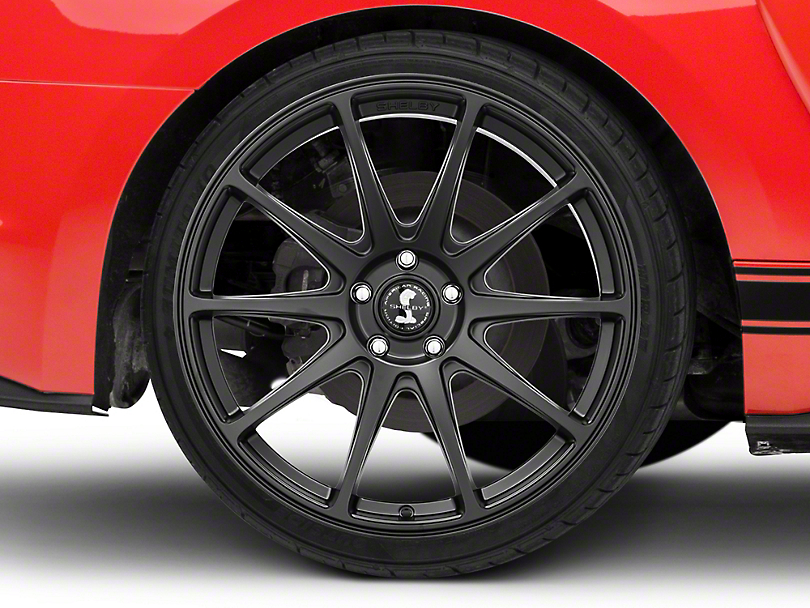Shelby Style SB203 Satin Black Wheel - 20x10.5 (15-18 GT, EcoBoost, V6)
