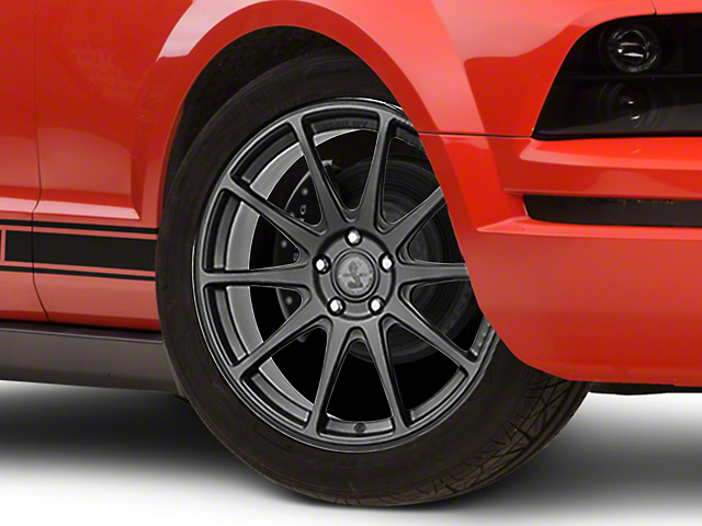 Shelby Style SB203 Charcoal Wheel; 19x9.5 (05-09 All)