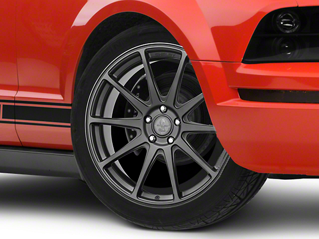 Shelby Style SB203 Charcoal Wheel; 20x9.5 (05-09 All)