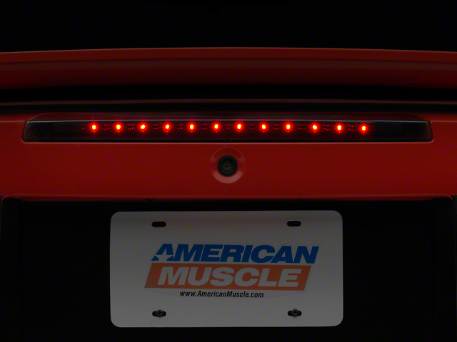Axial LED Third Brake Light; Smoked (99-04 All, Excluding Cobra)