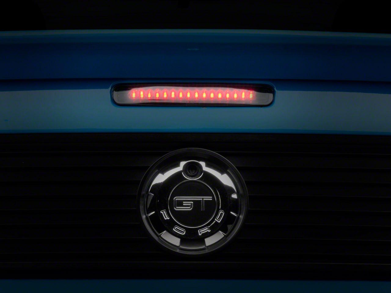 3rd Brake Light High Mount Brake Light 5056203AH//55056203AC//55056203A//55056203 LED Rear Light Chrome+Smoke Lens Fit for 97-07 D-odge Dakota