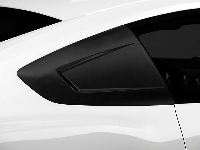 MMD Quarter Window Scoops - Unpainted (15-18 All)