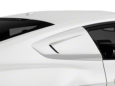 MMD Quarter Window Scoops - Pre-Painted (15-18 Fastback)