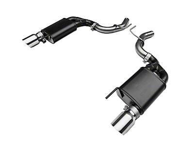 RTR Tactical Performance Street Spec Axle-Back Exhaust w/ Polished Tips (15-18 EcoBoost)
