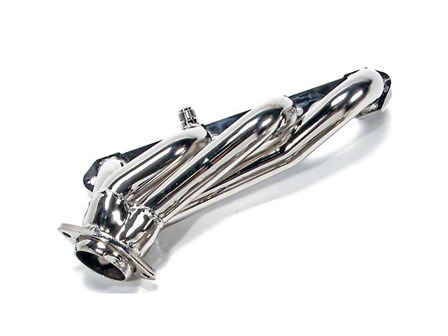 BBK 1-5/8-Inch Shorty Headers; Chrome (94-95 GT, Cobra)