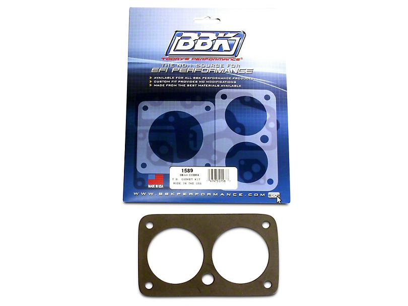 BBK 65mm Throttle Body Gasket Kit (96-01 Cobra, Bullitt; 03-04 Mach 1)