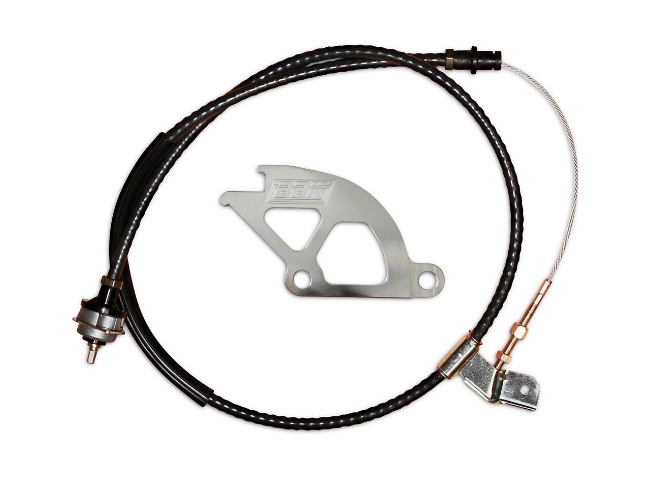 BBK Adjustable Clutch Cable & Quadrant Kit (96-04 All)