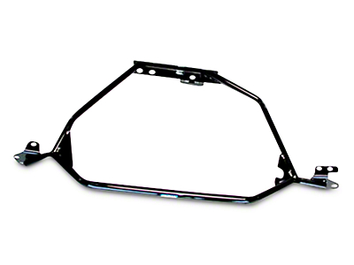 BBK Strut Tower Brace - Black (94-95 GT, Cobra)