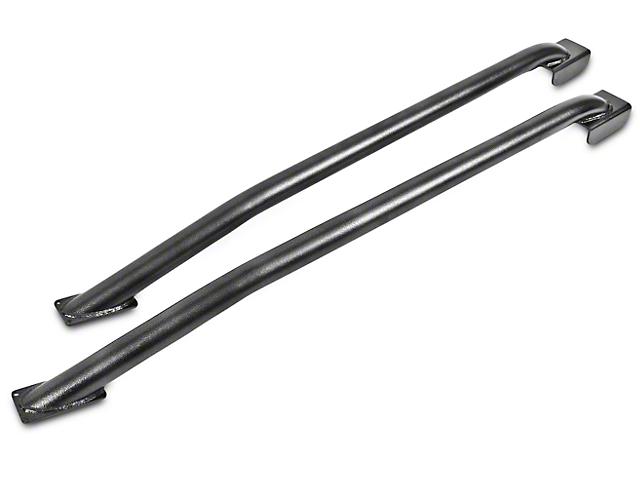 BMR Tubular Subframe Connectors - Hammertone (79-04 Coupe)