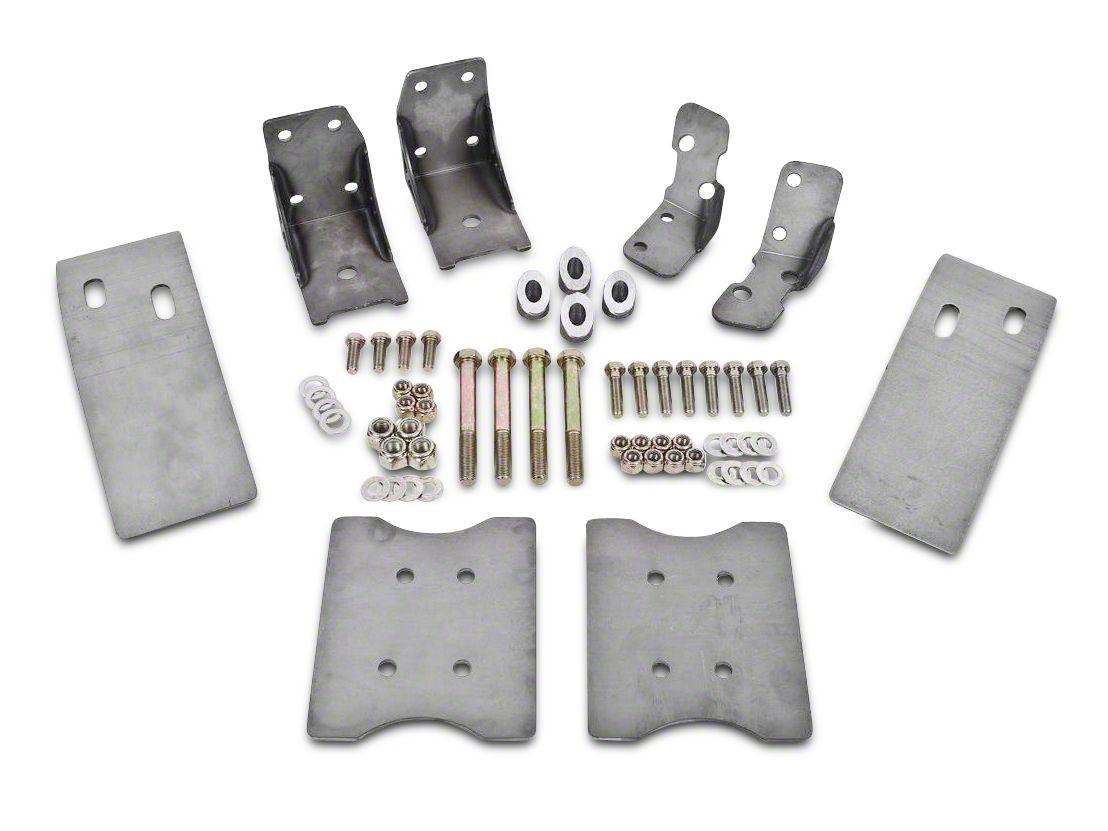 BMR Upper & Lower Torque Box Reinforcement Braces (79-04 All)
