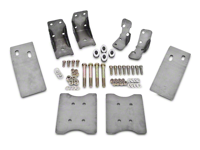 BMR Upper & Lower Torque Box Reinforcement Braces (79-04 All)