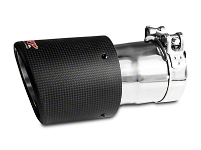 MBRP 4.5 in. Exhaust Tip - Carbon Fiber - 3 in. Connection (87-18 All)