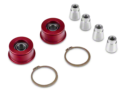J&M Front Control Arm Spherical Caster Bushing - Red (15-17 All)