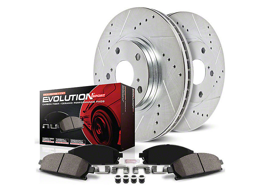 Power Stop Z23 Evolution Sport Brake Rotor & Pad Kit - Front (05-10 GT; 11-14 Standard GT)