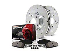 Power Stop Z23 Evolution Sport Brake Rotor and Pad Kit; Front (15-21 GT w/ Performance Pack)