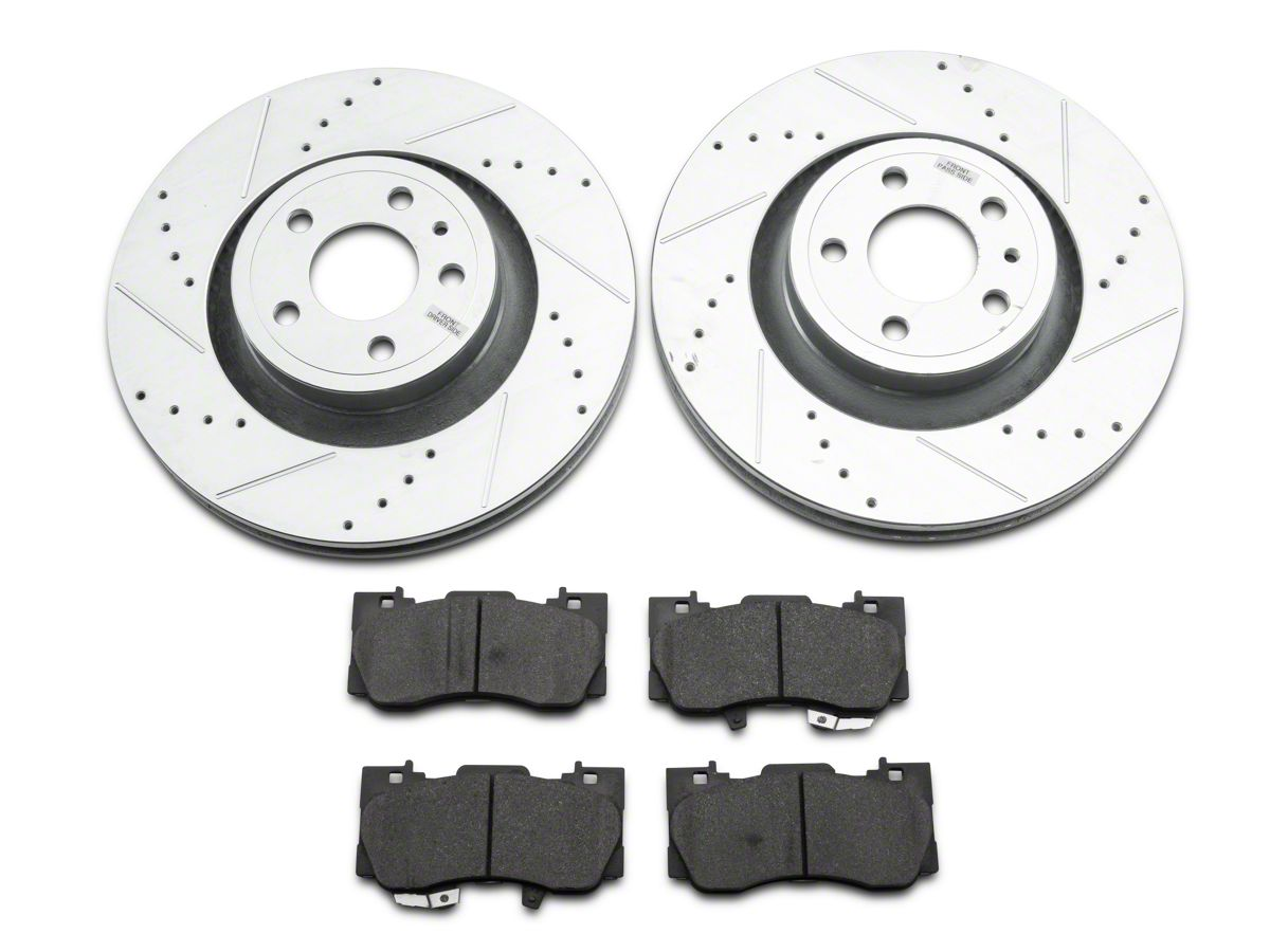 Power Stop Brakes >> Power Stop Z23 Evolution Sport Brake Rotor Pad Kit Front 15 20 Standard Gt Ecoboost W Performance Pack