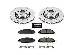 Power Stop Z23 Evolution Sport Brake Rotor & Pad Kit - Front (15-20 Standard EcoBoost, V6)