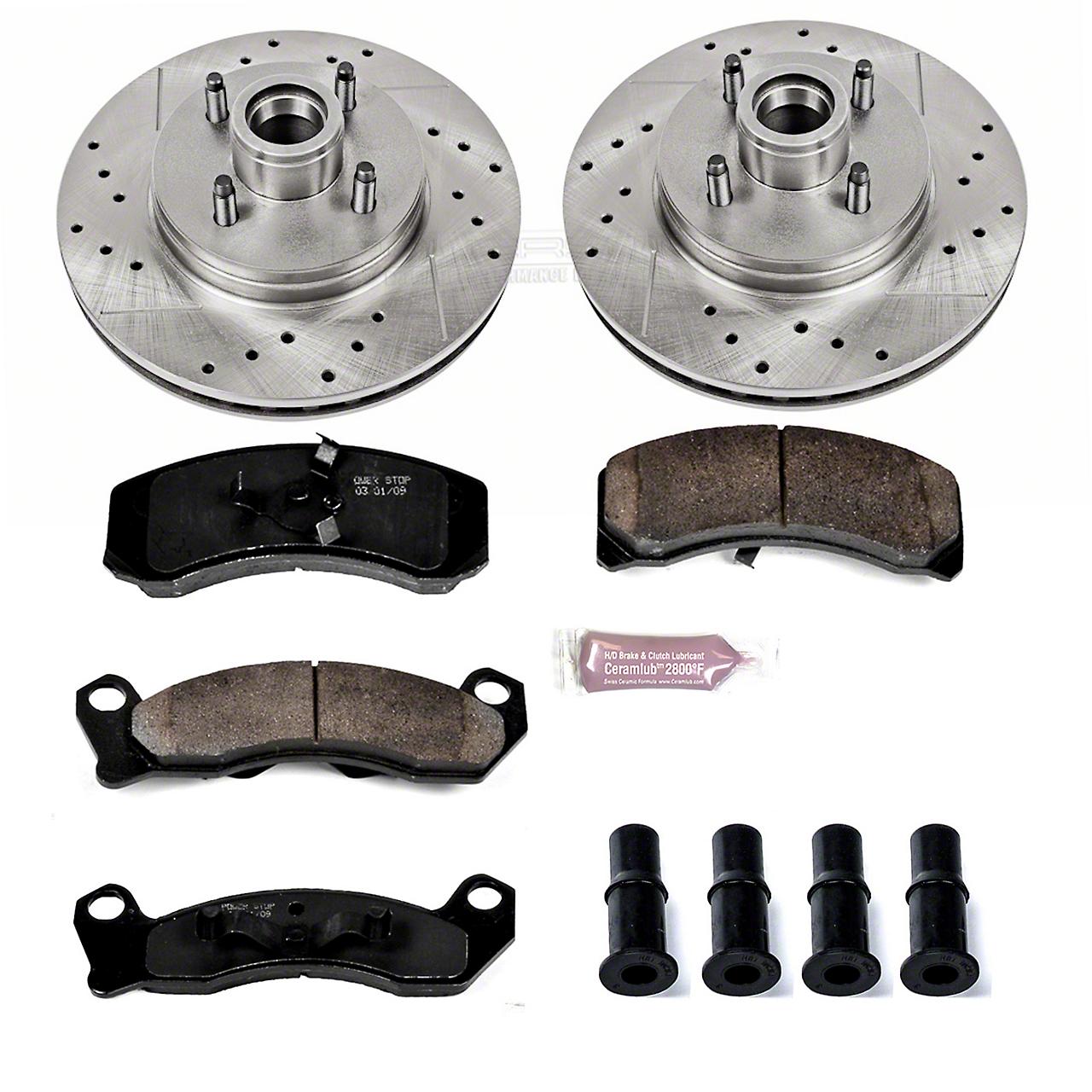 Power Stop Z23 Evolution Sport Brake Rotor & Pad Kit - Front (87-93 5.0L)