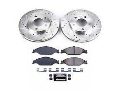 Power Stop Z23 Evolution Sport Brake Rotor and Pad Kit; Front (99-04 GT, V6)